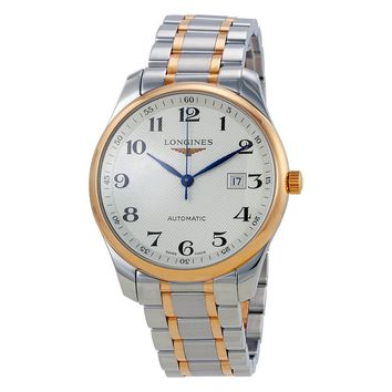 Longines Master Silver Dial Automatic Mens Watch L2.893.5.79.7