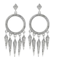 House of Harlow 1960 Jewelry Vibrations Chandelier Earrings