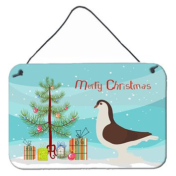 Large Pigeon Christmas Wall or Door Hanging Prints BB9310DS812