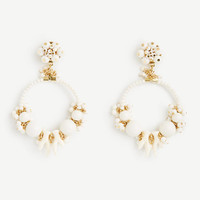 Beaded Hoop Earrings | Ann Taylor