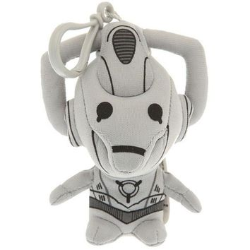 Doctor Who Talking Mini Plush 4 Inch Keychain Cyberman