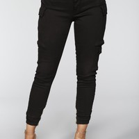 Kalley Cargo Pants - Black