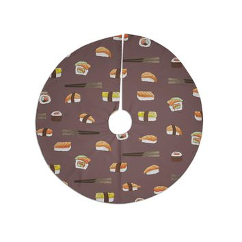 "Strawberringo ""Sushi Pattern"" Orange Brown Tree Skirt"