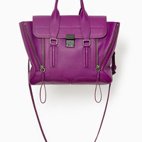Orchid Pashli Medium Satchel