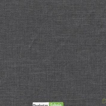 Solid Grey Polyester Fabric