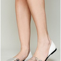 Jeffrey Campbell   Santorini Flat at Free People Clothing Boutique