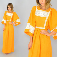 70's Clementine Mexican Dress