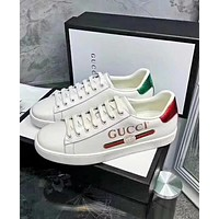 GUCCI Fashion Women Popular New Style Letter Print Sport Running Shoe Sneakers High Quality I-ALS-XZ