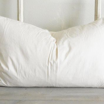 "16"" x 26"" Down Feather Pillow Insert"