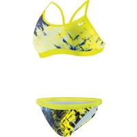 Nike Women's Fractured Tie-Dye Adjustable 2-Piece Swimsuit | DICK'S Sporting Goods