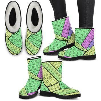 Periodic Table Boots