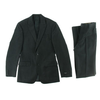 Bar III Mens Wool Slim Fit Two-Button Suit
