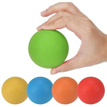 Rubber Ball For Trigger Point Body Massage 6.5 cm  1 Piece