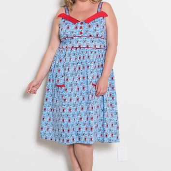 Peggy Sweetheart Dress