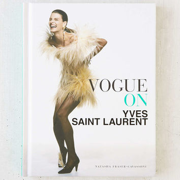 Vogue On Yves Saint Laurent By Natasha Fraser-Cavassoni - Urban Outfitters