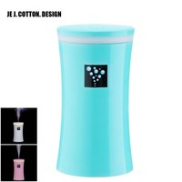 Anion Air Ultrasonic Humidifier with Light Air Freshener Essential Oil Aroma Diffuser Aromatherapy for Home Car 230ML USB DC5V