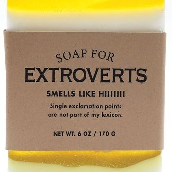 Extroverts the Sun in Human Form Scented Soap - Smells Like Hi!!!!!!