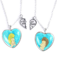 BEAVIS & BUTTHEAD FRIENDSHIP NECKLACES