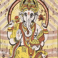 Lord Ganesh Tapestry Hippie Boho Tapestry Wall Hanging Art