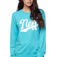 Neff Athletic Crew Fleece - Womens Hoodie - Blue