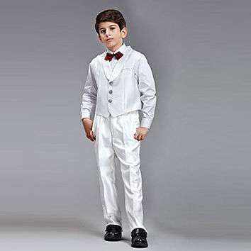 Five Pieces Ring Bearer Suit Clothing Set(More Colors)
