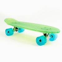 Bantam Beach Glass Skateboard - Lime