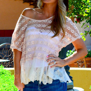 MY FAIRY TALE TOP IN BLUSH