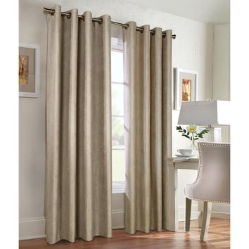 Navar Blackout Suede Panels | Overstock.com Shopping - The Best Deals on Curtains