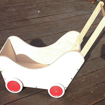 Kiddie Cart- Wooden Wagon-Walker Wagon-Doll-Pram-Doll-Carriage