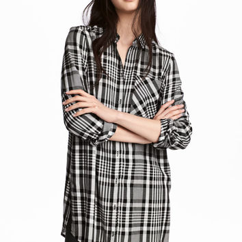 H&M Long Viscose Shirt $24.99