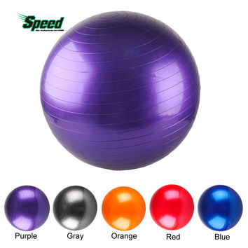 New Arrival 75 CM Yoga Ball Thick Explosion Proof Massage Ball Bouncing Ball Gymnastic Exercise Yoga Balance Ball 5 Colors