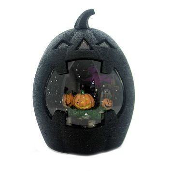 Halloween JACK-O-LANTERN SWIRL LED Plastic Lighted Blower 131194
