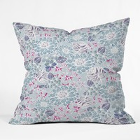 Dance Lilly Throw Pillow Rosebudstudio