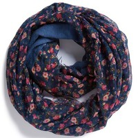 BP. Ditsy Floral Print Infinity Scarf (Juniors)