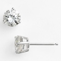 Women's Nordstrom Boxed Round 2ct tw Cubic Zirconia Earrings - Clear Cz/