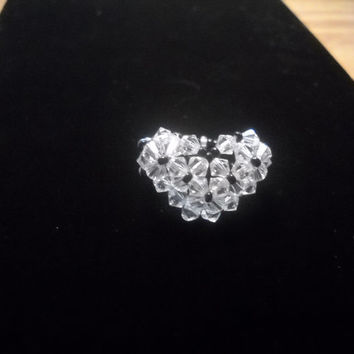 Heart Shaped Beaded Ring