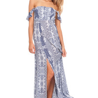 Flynn Skye Bardot maxi in dreamy days