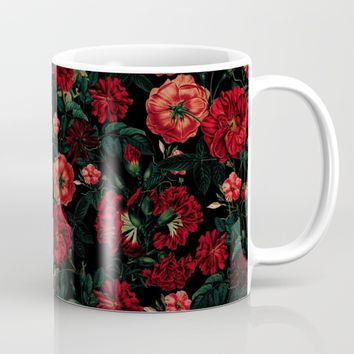 RED NIGHT Mug by VS Fashion Studio