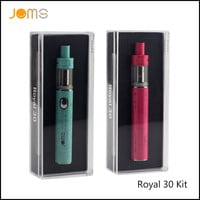 RU/US Stock!! 2016 Jomotech Royal 30 Box Mods 30W Electronic Cigarettes 1150mAh Vape Pen eCigarette Kits with 2ML Tank Jomo-108