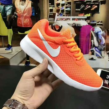 NIKE TANJUN KAISHI Fashion Running Sport Casual Shoes Sneakers Orange