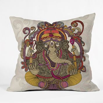 Valentina Ramos Lord Ganesh Throw Pillow