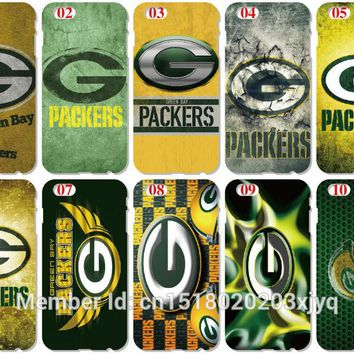 Green Bay Packers Cover For iphone 5 5S SE 5C 6 6S 7 8 Plus Cell Phone Case