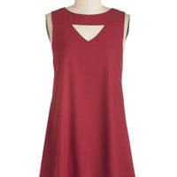 ModCloth Mid-length Sleeveless Shift It's a Done Zeal Dress