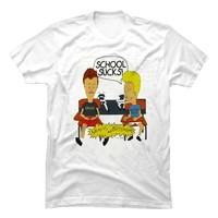 Beavis and Butt-Head School Sucks t shirt - Tees Shop