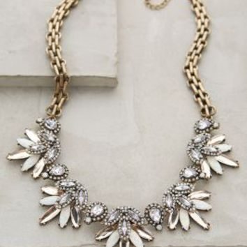 Lavande Bib Necklace by BaubleBar x Anthropologie in Lavender Size: One Size Necklaces