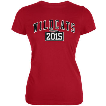 Graduation - WildCats Class of 2015 Red Juniors Soft T-Shirt