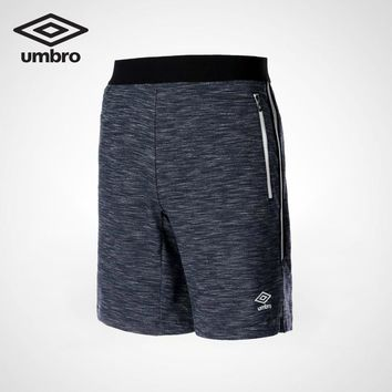 Umbro 2018 New Sports Shorts Tight Pockets Training Pants Men Gym Mens Quick Dry Pants Running Shorts UI182AP2715