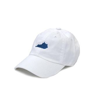 KY Lexington Gameday Hat in White by State Traditions