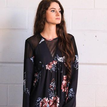 Some Days Lovin' Homecoming Floral Blouse