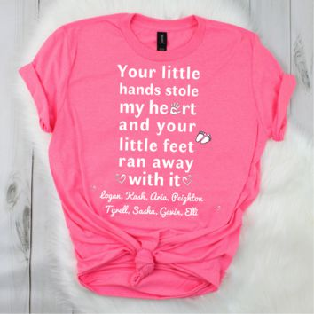 You Stole My Heart - Personalized Premium Comfort